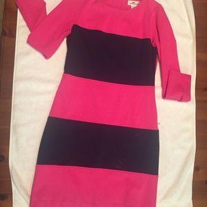 Vineyard Vine 2 Navy Pink dress